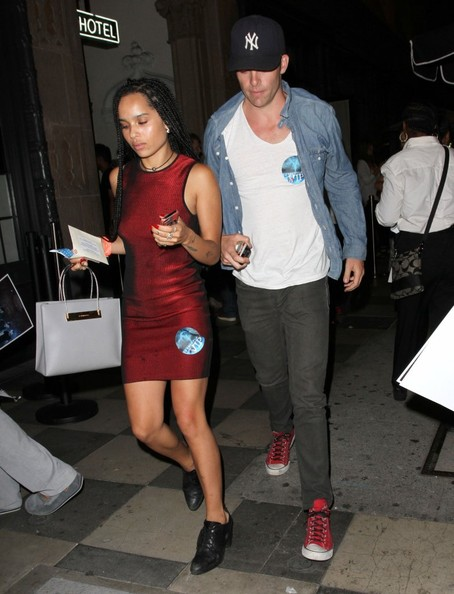 Chris Pine and Zoe Kravitz Spotted with a Balenciaga Cable Strap Medium Shopper Bag