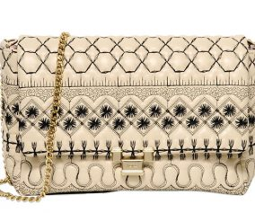 5e0c0cdb4b55 Valentino Replica Bags Category. RED Valentino Embroidered Quilted Shoulder  Bag