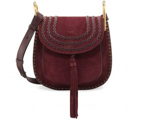 Chloé Hudson Suede Shoulder Bag