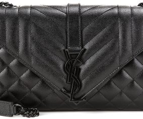 Saint-Laurent-Tri-Quilted-Monogram-Bag